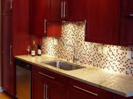 kitchen mosaic tile backsplash ideas cherry kitchen cabinet backsplash ideas my home design journey