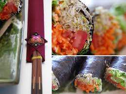 raw vegan sushi recipe the global
