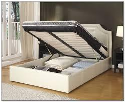 Raised Platform Bed Frame California King Bed With Storage Underneath Raised Platform Bed
