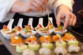 cocktails and canapes our chefs prepare the most dishes and finger snacks