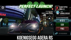 koenigsegg ghost racing rivals koenigsegg agera rs perfect launch tutorial youtube
