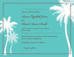 palm tree wedding invitations wedding invitations