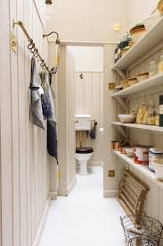 the gorgeous walk in pantry and loo in devol u0027s new london showroom