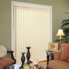Blinds For Living Room Hampton Bay Heather Buff 3 5 In Vertical Blind 78 In W X 84 In