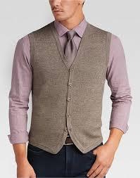 mens sweater vests joseph abboud acorn brown sweater vest s sweaters s