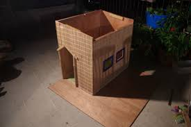 tropical dog house album on imgur added bamboo trim from pieces