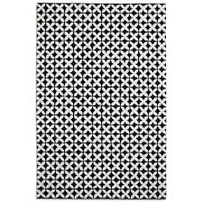 Rug Black Plantation Geometric Rug In Black And White Cult Furniture Uk