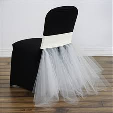 tutu chair covers tutu chair covers skirts