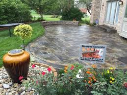Backyard Stamped Concrete Ideas Stamped Concrete Patterns Mi Decorative Concrete Patterns Mi