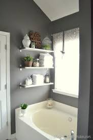 Small Bathroom Shelf Ideas Colors 15 Exquisite Bathrooms That Make Use Of Open Storage Glass Canisters