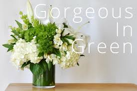 white flower centerpieces seeing green with this gorgeous white flower arrangement recipes
