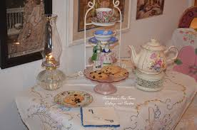 little tea table set bernideen s tea time cottage and garden a prelude to spring day