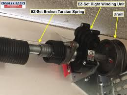 Garage Door Counterbalance Systems by What Is The Ez Set Spring System