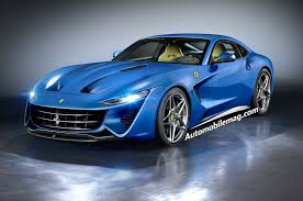 Ferrari F12 Blue - deep dive the updated ferrari california the dino and the next ff