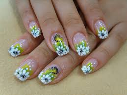 how to do flower nail art design in just 5 minutes just in five
