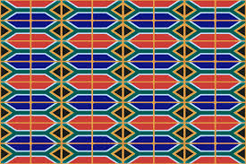 Afican Flag Pattern Of South African Flag Free Stock Photo Public Domain