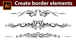 vintage design adobe illustrator tutorial how to design vintage border elements