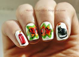 nailsn u0027cupcakes kaboom exploding nail art