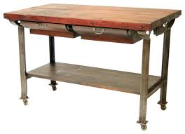 impressive wonderful butcher block kitchen cart french country