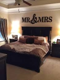 Brown Bedroom Ideas by Mr U0026 Mrs Wood Letters Wall Décor Painted Wood Letters Wall
