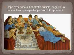 banchetti antica roma il fidanzamento e il matrimonio in epoca romana e nel nostro ordiname
