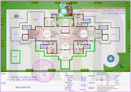Mega Mansion Floor Plans Gigantic Super Luxury Floor Plan Kerala Home Design And Floor Plans