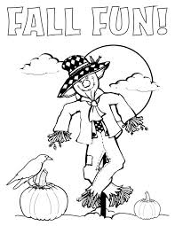 fall fun coloring