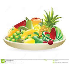 bowl of fruit illustration stock photos image 20160833