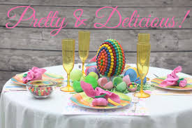Easter Decorations For A Table by Easter Table Centerpiece Candy Creation Life Sew Savory