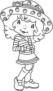 fashion model coloring pages strawberry shortcake fashion model coloring page coloring sky