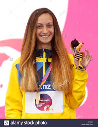 gold medal hair ukraine s natalia kobzar with her gold medal for the women s 200m