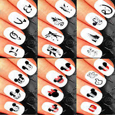 mickey mouse nail stickers ebay