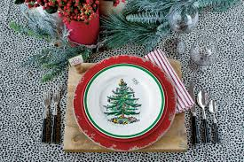 Christmas Tabletop Decoration by Christmas And Holiday Decorating Ideas Table Settings Southern