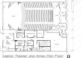 floor plan theater the burlington capitol theater floor plans