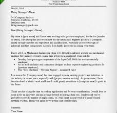 mechanical engineering cover letter examples chief mechanical