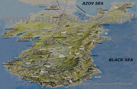 Ancient Map Of Greece by Crimea Ancient Greek Chersonesos