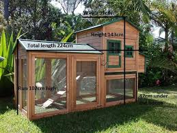 Super Hutch Super Deluxe Mansion Chicken Coop Rabbit Hutch Cat Enclosure