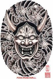 hannya mask samurai tattoo mike rubendall hannya cool pinterest tattoo japanese tattoos