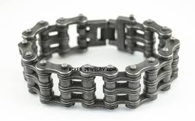 black chain bracelet images Stainless steel bracelets necklaces jpg