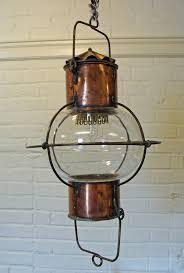 Ship Light Fixture Impressive Copper And Brass Ship S Globe Lantern Skipjack