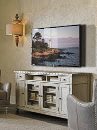 oyster bay shadow valley media console lexington home brands