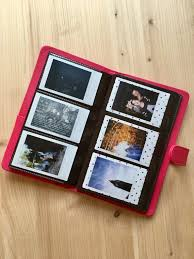 wallet size photo album photo album for instax mini size instax photo album for 120