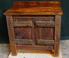 Barn Board Bathroom Vanity Bathroom Elegant Reclaimed Wood Vanity Rustic Bath Cabinetry Log