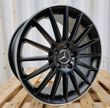 mercedes c63 amg alloys 19 mercedes c63 amg black edition style alloy wheels x4 boxed