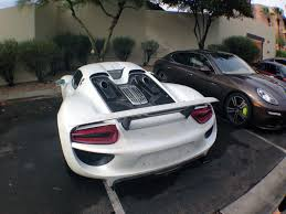 new porsche 918 spyder spy shots porsche 918 spyders caught testing in arizona gtspirit