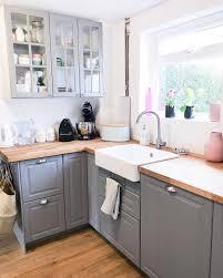 ikea bodbyn grey kitchen cabinets grey kitchen ikea bodbyn a modern farmhouse