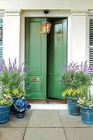 Front Door Planters by Best 20 Green Front Doors Ideas On Pinterest Green Doors Front