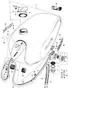 1971 Honda Cb500 Fuel Tank Fuel Valve Parts Best Oem Fuel Tank