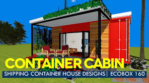modern container house designs with floor plans ecobox 160