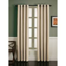 essential home faux linen grommet panel natural home home